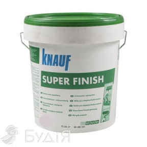Шпатлевка KNAUF (КНАУФ) Super Finish (Супер Финиш) (25кг)